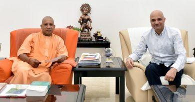 UPCM से मुलाकात करते हुए कनाडा में भारतीय राजदूत दिनेश भाटिया
