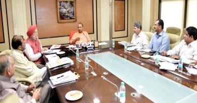 UPCM ने केन्द्रीय आवास एवं शहरी कार्य राज्यमंत्री के साथ विभिन्न योजनाओं की समीक्षा बैठक की