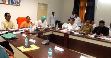 UPCM ने जनपद सम्भल में विकास कार्यों और कानून-व्यवस्था की समीक्षा बैठक की