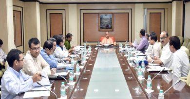 UPCM ने शास्त्री भवन में 'शमन योजना-2018' के प्रस्तुतिकरण का अवलोकन किया