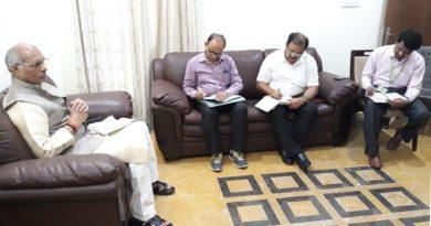 UPCM मंत्रिमंडल के सिंचाई मंत्री ने नहरों पर बने जर्जर पुलों की मरम्मत कराये जाने के निर्देश दिये