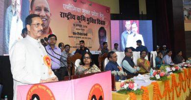 UP_Dy_CM डाॅ. दिनेश शर्मा ने 'राष्ट्रीय कृमि मुक्ति' अभियान का उद्घाटन किया
