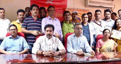 UPCM मंत्रिमंडल के नागरिक सुरक्षा राज्यमंत्री दो दिवसीय रक्तदान शिविर में शामिल हुए