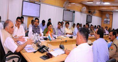UPCM NEWS, मुख्य सचिव ने 'कुम्भ मेला-2019' के कार्यों की समीक्षा बैठक की
