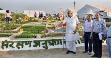 UPCM मंत्रिमंडल के कृषि मंत्री ने 'कृषि कुम्भ मेले' का स्थलीय निरीक्षण किया
