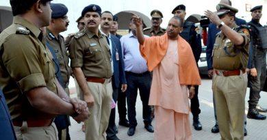 UPCM ने लखनऊ के पुलिस लाइन का निरीक्षण किया