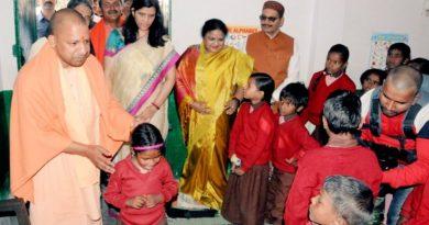 UPCM ने बहराइच भ्रमण के दौरान प्राथमिक विद्यालय का निरीक्षण किया
