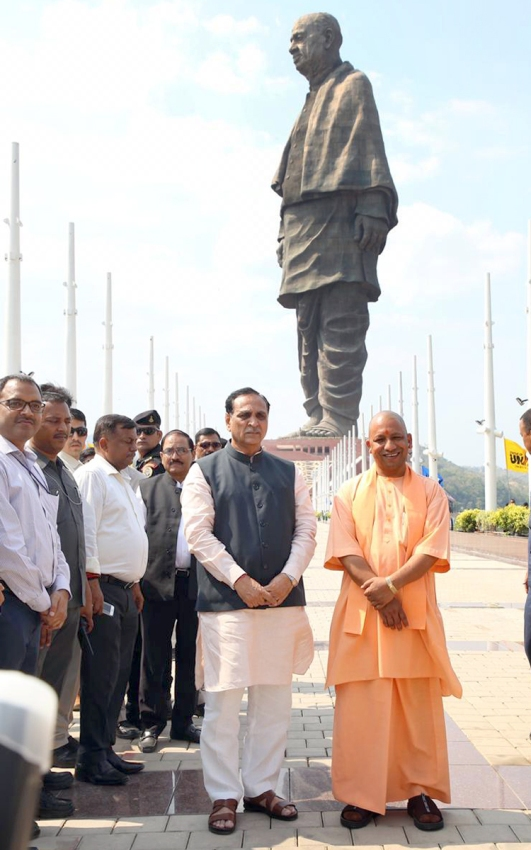 UPCM गुजरात में सरदार पटेल की 182 मीटर ऊँची प्रतिमा के लोकार्पण के लिए PM-मोदी के प्रति आभार व्यक्त करते हुए