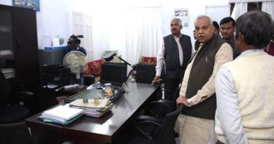 UPCM मंत्रिमंडल के सूक्ष्म, लघु एवं मध्यम उद्यम मंत्री ने कानपुर में उद्योग निदेशालय का आकस्मिक निरीक्षण किया