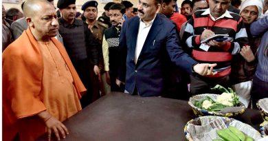 UPCM ने जनपद गोरखपुर में कृषि मण्डी का निरीक्षण किया