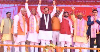 UP_Dy_CM ने बाराबंकी और अयोध्या में विभिन्न परियोजनाओं का शिलान्यास और लोकार्पण किया
