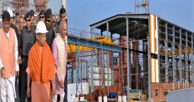 UPCM ने गोरखपुर स्थित निर्माणाधीन पिपराइच चीनी मिल का निरीक्षण किया
