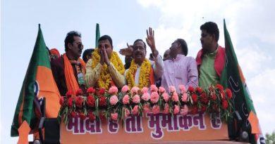 UP_Dy_CM बोले दिखावे के लिए अलग-अलग चुनाव लडते हैं सपा बसपा और कांग्रेस