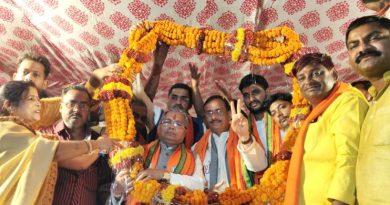 UP_Dy_CM डा. दिनेश शर्मा बोले बसपा-समाजवादी पार्टी अस्तांचल में जाती हुई पार्टी