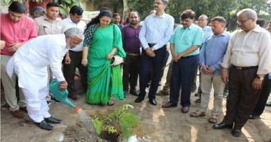 UPCM मंत्रिमंडल के परिवहन मंत्री ने पर्यावरण दिवस पर वृक्षारोपण किया
