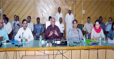 सिंचाई मंत्री ने कहा अधिकारी बाढ़ एवं सिल्ट सफाई के कार्य निर्धारित समय सीमा में पूर्ण करें