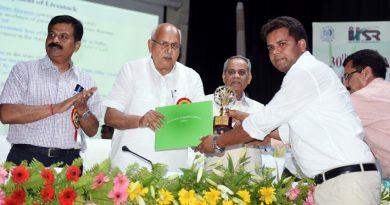 UPCM मंत्रिमंडल के कृषि मंत्री ने कृषि वैज्ञानिकों को सम्मानित किया