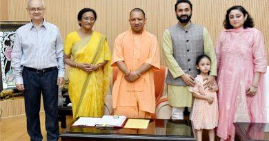 UPCM योगी आदित्यनाथ से 21 जुलाई, 2019 को सांसद रीता बहुगुणा जोशी ने मुलाकात की