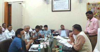 औद्योगिक विकास मंत्री ने ग्राउंड ब्रेकिंग सेरेमनी-2 में आयोजित होने वाले सत्रों की समी़क्षा की