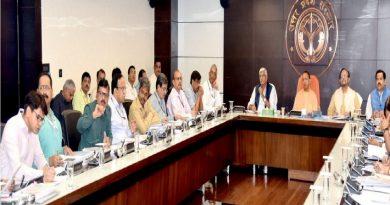 UPCM और केन्द्रीय जल शक्ति मंत्री ने #SBM और 'नमामि गंगे' परियोजनाओं की प्रगति के सम्बन्ध में प्रस्तुतिकरण देखा