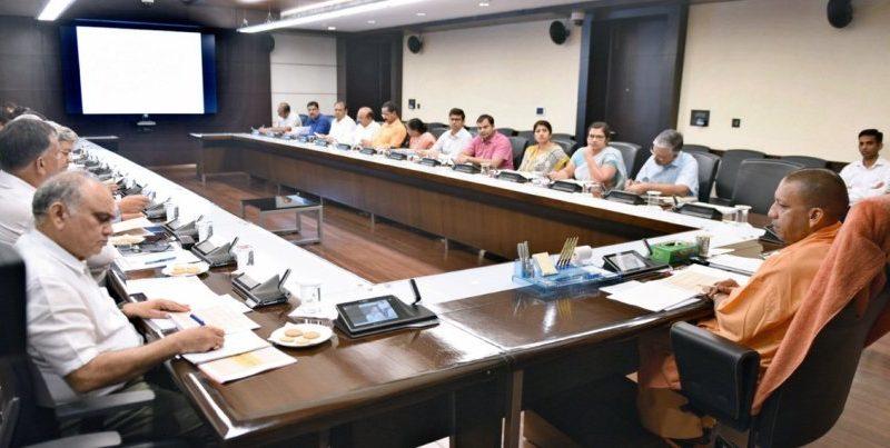 UPCM ने 'मुख्यमंत्री कन्या सुमंगला योजना' के सम्बन्ध में अधिकारियों के साथ बैठक की