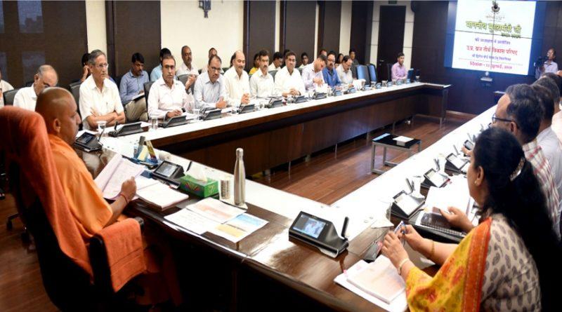 UPCM योगी ने उत्तर प्रदेश ब्रज तीर्थ विकास परिषद की दूसरी बैठक की अध्यक्षता की