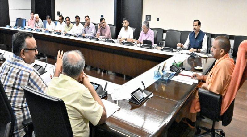 UPCM ने बुन्देलखण्ड व विन्ध्य क्षेत्र और गुणता प्रभावित ग्रामों की पाइप पेयजल परियोजना की प्रगति की समीक्षा की