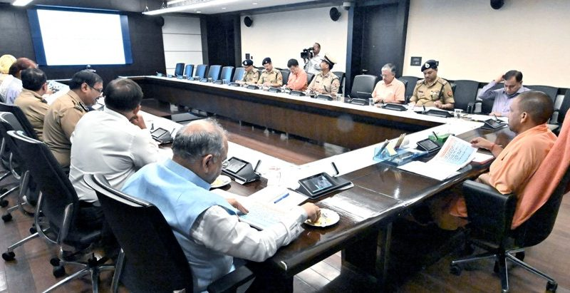 UPCM योगी आदित्यनाथ ने कारागार प्रशासन एवं सुधार विभाग की समीक्षा की