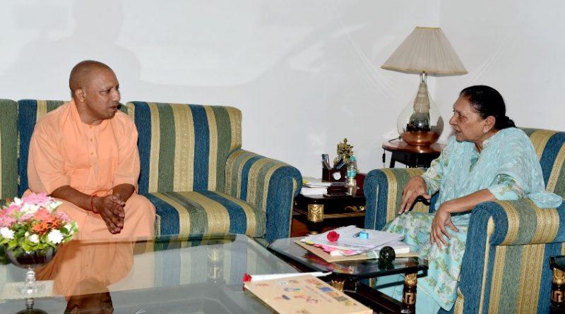 UPCM ने राजभवन में राज्यपाल आनन्दीबेन पटेल से शिष्टाचार भेंट की