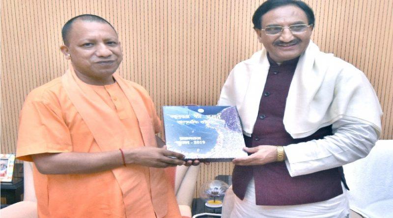 UPCM ने केंद्रीय मानव संसाधन विकास मंत्री रमेश पोखरियाल निशंख से मुलाकात की