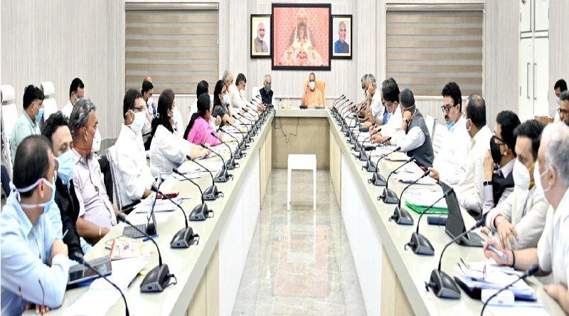 मुख्यमंत्री की नीति आयोग के उपाध्यक्ष और अन्य अधिकारियों के साथ बैठक सम्पन्न