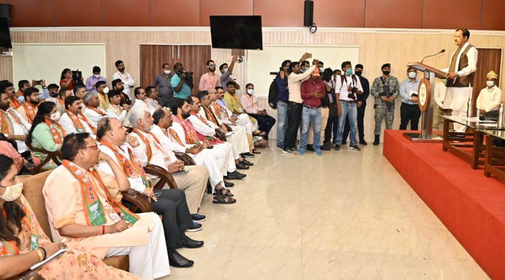 BJP: बीजेपी की प्रदेश मीडिया कार्यशाला पार्टी के राज्य मुख्यालय पर सम्पन्न