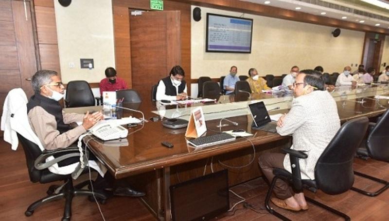 मुख्य सचिव ने स्वच्छ भारत मिशन (नगरीय) की राज्य स्तरीय उच्चाधिकार प्राप्त समिति की बैठक की